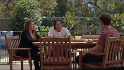 Terese Willis, Brad Willis, Ned Willis in Neighbours Episode 7360