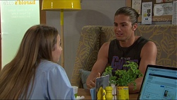 Piper Willis, Tyler Brennan in Neighbours Episode 7361