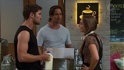Ned Willis, Brad Willis, Piper Willis in Neighbours Episode 7361