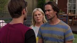 Ned Willis, Lauren Turner, Brad Willis in Neighbours Episode 7362