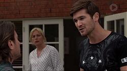 Brad Willis, Lauren Turner, Ned Willis in Neighbours Episode 7363