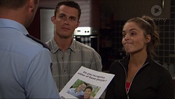 Mark Brennan, Jack Callaghan, Paige Novak in Neighbours Episode 7363