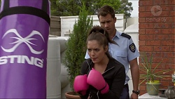 Paige Smith, Mark Brennan in Neighbours Episode 7363