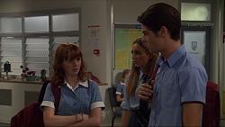 Sharn Hauser, Piper Willis, Ben Kirk in Neighbours Episode 7363