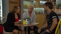 Terese Willis, Lauren Turner, Ned Willis in Neighbours Episode 7363