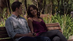 Jack Callaghan, Paige Novak in Neighbours Episode 7363