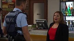 Mark Brennan, Terese Willis in Neighbours Episode 7363