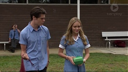 Ben Kirk, Xanthe Canning in Neighbours Episode 7364