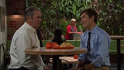 Karl Kennedy, Angus Beaumont-Hannay in Neighbours Episode 7364