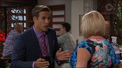 Aaron Brennan, Sheila Canning in Neighbours Episode 7364
