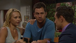 Steph Scully, Mark Brennan, Aaron Brennan in Neighbours Episode 7364