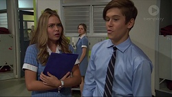 Xanthe Canning, Angus Beaumont-Hannay in Neighbours Episode 7364