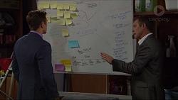 Aaron Brennan, Paul Robinson in Neighbours Episode 7365