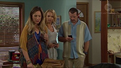 Sonya Rebecchi, Steph Scully, Toadie Rebecchi in Neighbours Episode 7365