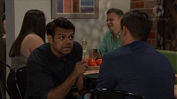 Nate Kinski, Aaron Brennan in Neighbours Episode 7365