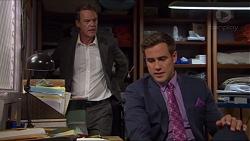 Paul Robinson, Aaron Brennan in Neighbours Episode 7365