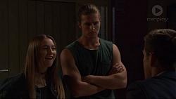 Piper Willis, Tyler Brennan, Aaron Brennan in Neighbours Episode 7365