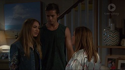Piper Willis, Tyler Brennan, Terese Willis in Neighbours Episode 7366