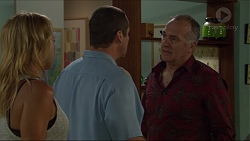 Steph Scully, Toadie Rebecchi, Walter Mitchell in Neighbours Episode 7366