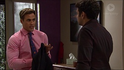 Aaron Brennan, Nate Kinski in Neighbours Episode 7366