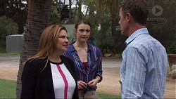 Terese Willis, Amy Williams, Paul Robinson in Neighbours Episode 7367