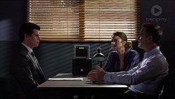 Detective Chris Santini, Amy Williams, Paul Robinson in Neighbours Episode 7367