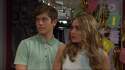 Angus Beaumont-Hannay, Xanthe Canning in Neighbours Episode 7368