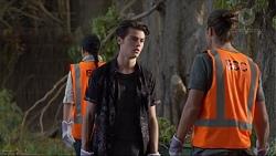 Ben Kirk, Tyler Brennan in Neighbours Episode 7368