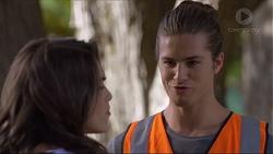 Paige Novak, Tyler Brennan in Neighbours Episode 7368