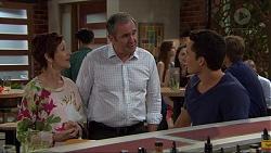 Susan Kennedy, Karl Kennedy, Jack Callaghan in Neighbours Episode 7368