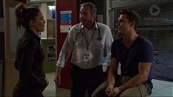 Paige Smith, Karl Kennedy, Jack Callahan in Neighbours Episode 7369