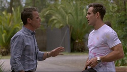 Paul Robinson, Aaron Brennan in Neighbours Episode 7369