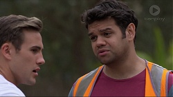 Aaron Brennan, Nate Kinski in Neighbours Episode 7369