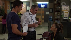 Jack Callahan, Karl Kennedy, Paige Smith in Neighbours Episode 7369