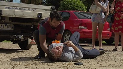 Nate Kinski, Paul Robinson in Neighbours Episode 7370
