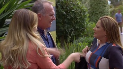 Sonya Rebecchi, Walter Mitchell, Terese Willis in Neighbours Episode 7370