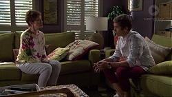 Susan Kennedy, Angus Beaumont-Hannay in Neighbours Episode 7370