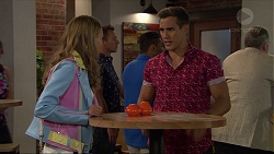Xanthe Canning, Aaron Brennan in Neighbours Episode 7370