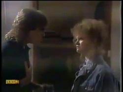 Nick Atkins, Sharon Davies in Neighbours Episode 0863