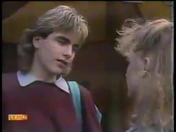 Nick Page, Sharon Davies in Neighbours Episode 0863
