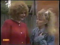 Madge Bishop, Sharon Davies in Neighbours Episode 0863