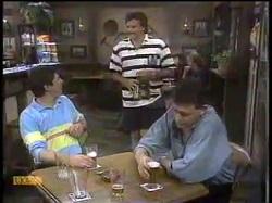 Joe Mangel, Mark Granger, Des Clarke in Neighbours Episode 0864
