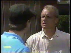 Joe Mangel, Jim Robinson in Neighbours Episode 0865