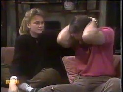 Bronwyn Davies, Malcolm Clarke in Neighbours Episode 0865