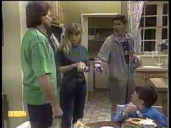 Mark Granger, Jane Harris, Joe Mangel, Toby Mangel in Neighbours Episode 0867