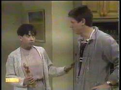 Hilary Robinson, Joe Mangel in Neighbours Episode 0867