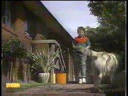 Toby Mangel, Bouncer in Neighbours Episode 0867