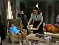 Toby Mangel, Dorothy Burke in Neighbours Episode 1574