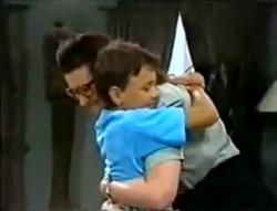 Dorothy Burke, Toby Mangel in Neighbours Episode 1574