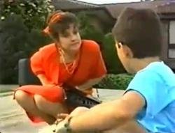 Faye Hudson, Toby Mangel in Neighbours Episode 1574